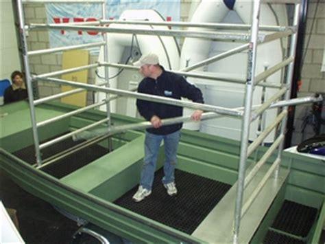 platbodem werkboot aluminium werkboten te koop bij dila watersport te