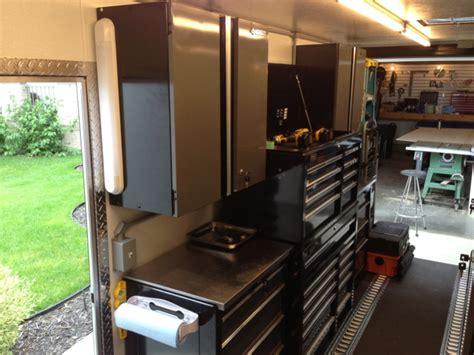 work trailer layout new trailer setup vehicles architect age