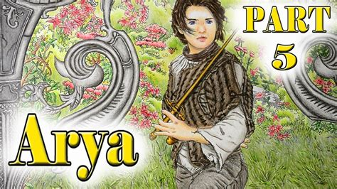 thrones colouring book ebay colouring tutorial of thrones arya stark part 5 with