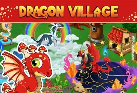 mod dragon city revdl dragon village city sim mania mod apk android