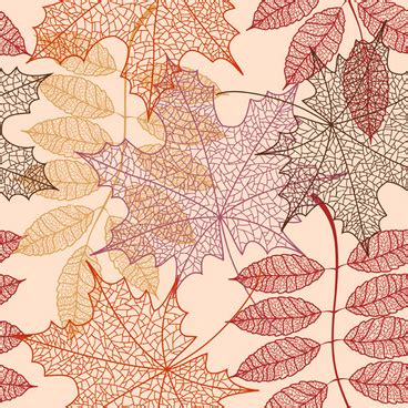 leaf pattern cdr pattern autumn leaves free vector download 21 952 free