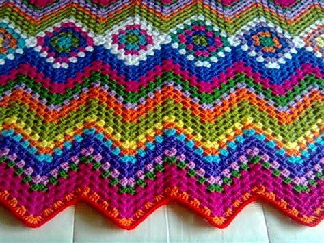 granny zig zag crochet pattern 17 best images about ripple chevron zig zag on pinterest