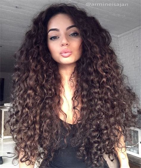 when was big perm hair popular ig armine isajan all the pretty people pinterest
