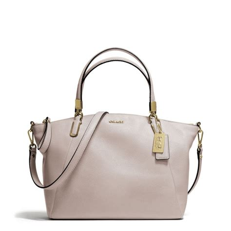 Coach Kelsey Small Patcwork coach small kelsey satchel in leather in