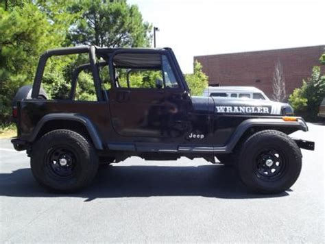 Used Jeep Wrangler For Sale Nc 1993 Jeep Wrangler Crossover For Sale In Raleigh Nc