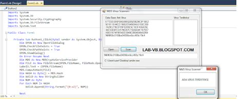 membuat virus berjalan otomatis cara membuat antivirus dengan visual studio programmsear