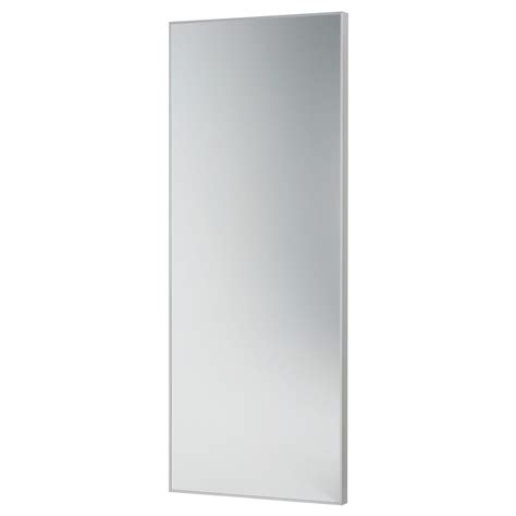 frameless full length wall mirror mirror clip art images hovet mirror aluminium 78x196 cm ikea