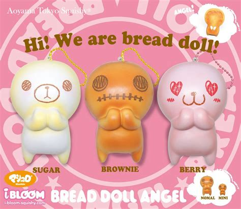 Bread Ibloom ibloom i bloom japan jumbo bread doll squishy