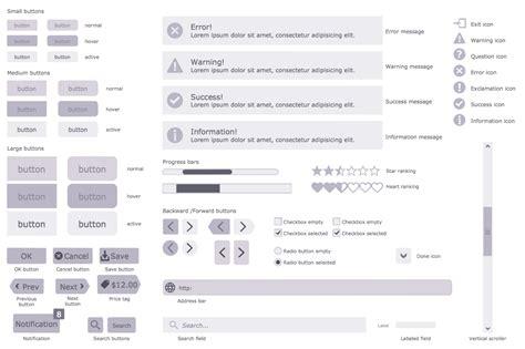 website wireframe solution conceptdrawcom