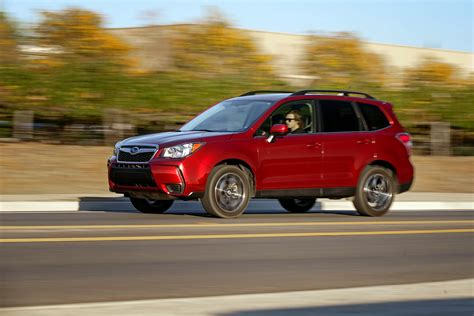 subaru forester red 2017 2014 subaru forester 2 0xt long term update 3 motor trend