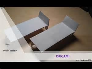 geldgeschenk bett tutorial origami faltanleitung bett teil 1