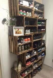 diy shoe rack by front door 25 best ideas about shoe shelves on pinterest shoe wall shoe shelve and diy shoe storage