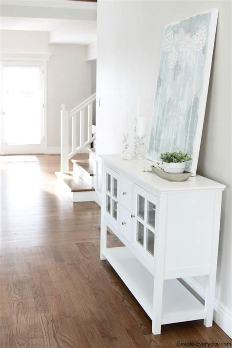 White Entryway Table White Entryway Table Convenience Concepts Country Entryway White Accent Table Ebay