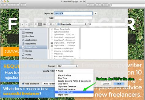 compress pdf with preview how to reduce the size of your pdf without compromising