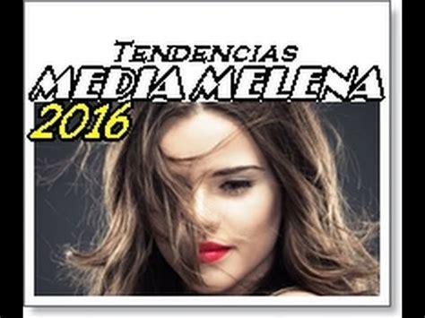 cortes de pelo 2016 mujer lo ultimo de la moda cortes de pelo media melena 2016 peinados de moda youtube