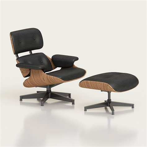 3d Printed Eames Lounge Chair 3d Eames Lounge Chair High Quality 3d Models