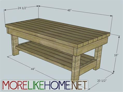 how to build a coffee table how to build a coffee table out of 2x4 woodworking