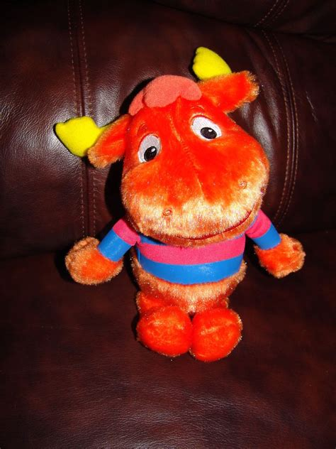 Backyardigans Dolls Backyardigans Tyrone The Orange Moose Plush Doll 11 Quot Ebay