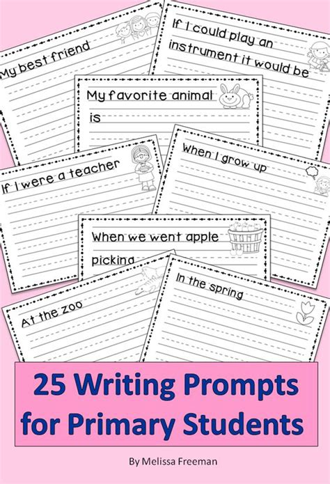 Essay Topics For Primary School Students by Primary Writing Prompts Student Writing Prompts And Writing