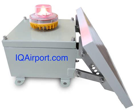 led aviation obstruction light solar led obstruction light faa