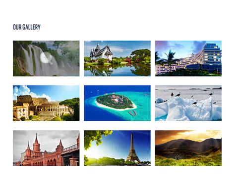 Journey Responsive Html5 Template Creative Beacon Responsive Gallery Template