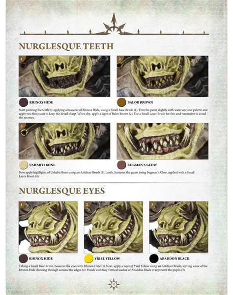 miniature painting guide warhammer digital everchosen painting guide tablet