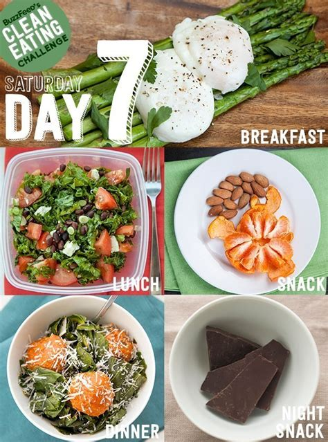 Buzzfeed Detox Plan by Day 7 Of The Clean Challenge