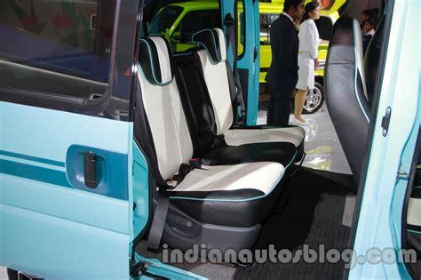 Maruti Omni 8 Seater Interior by Maruti Eeco Piknik Rear Seats Indian Autos