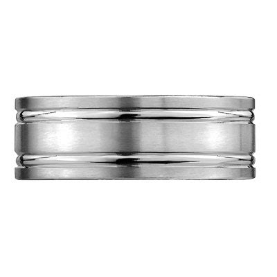 Wedding Bands Vancouver by 8mm Titanium Vancouver Wedding Band