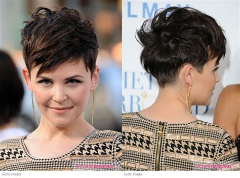 pixie cuts front and back view more ginnifer godwin pixie cut front and back views