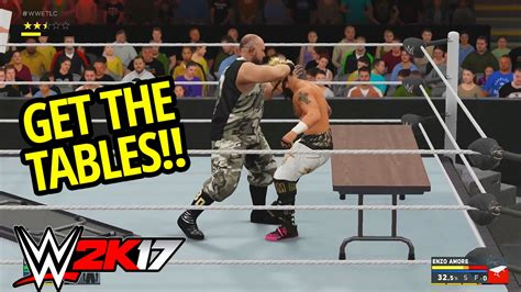 wwe table for 3 wwe 2k17 table match gameplay new table mechanics