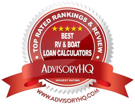 boat payment calculator top 6 best rv boat loan calculators 2017 ranking