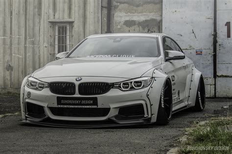 Bodykit Gd 3 wide kit for bmw quot 4 quot 435i f32 sr66 design kits aerodynamic sets