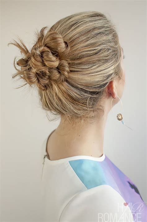 hair in days 30 buns in 30 days day 19 twist and pin bun hairstyle