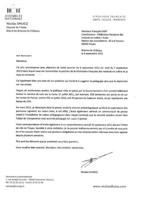 Modèle De Lettre D Invitation à Un Maire Lettre D Invitation Au Ministre Maire Au Pr 233 Fet Et Aux D 233 Put 233 S