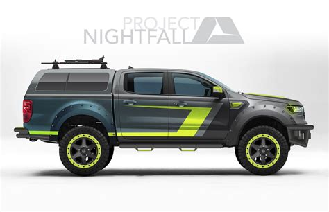2019 Ford Concepts by Ford Reveals 2019 Ranger Concept Trucks At Sema Show
