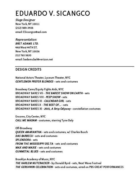 Job Resume Template Download by R 233 Sum 233