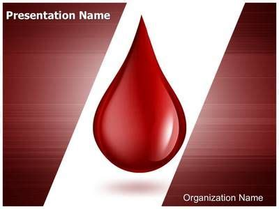 Blood Drop Powerpoint Template Is One Of The Best Powerpoint Templates By Editabletemplates Com Blood Powerpoint Template
