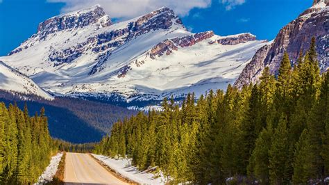 rocky mountain high banff national banff national park snow mountains hd canada hd wallpapers