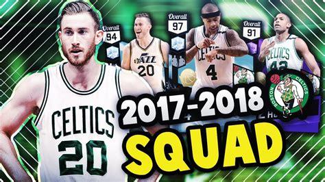 Kaos Nba 2017 2018 Boston Celtics 2018 boston celtics with gordon hayward nba 2k17 myteam squad builder