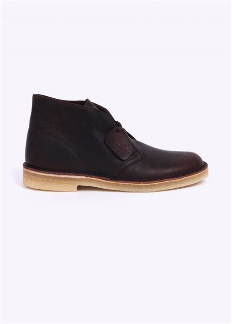 clarks originals desert boot tumble brown