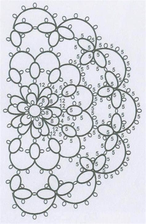 patterns free tatting 88 best tatting patterns doilies images on pinterest