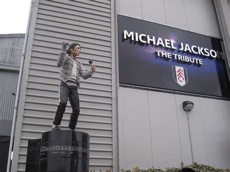 michael jackson statue craven cottage michael jackson statue to be removed from fulham s craven