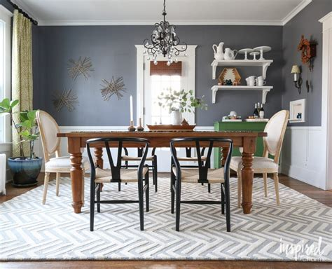 Is A Dining Room Rug Necessary Dining Room Drama