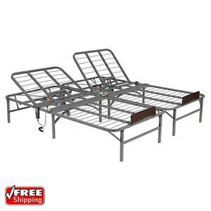 king size electric adjustable lift bed frame remote foundation base 810240020399 ebay