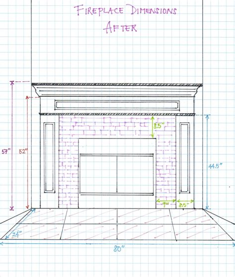 dimensions of a fireplace fireplace dimensions after hello aerie