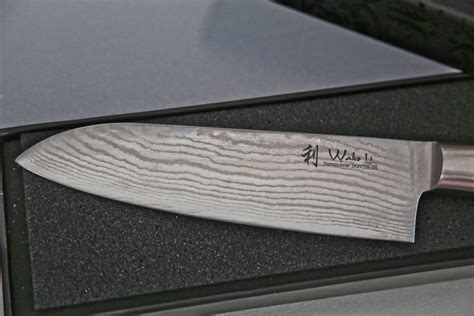 Good Quality Kitchen Knives by Wakoli 1dm San Mik Santoku Damascus Knife Japanese