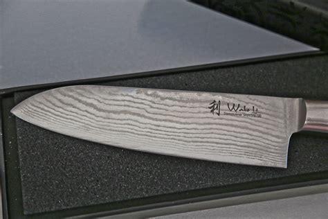 Best Quality Kitchen Knives wakoli 1dm san mik santoku damascus knife japanese