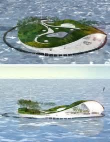 Large Desks fabulous floating villa island shaped floating home design