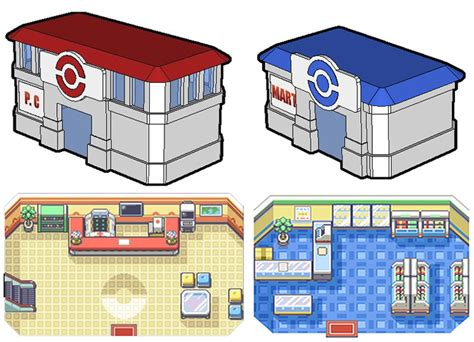 Mod The Sims   Pokemon Center & Mart